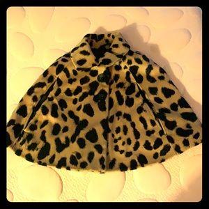 Baby Gap leopard cape